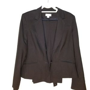 Black Suit, w/ flair Bottom Slacks
